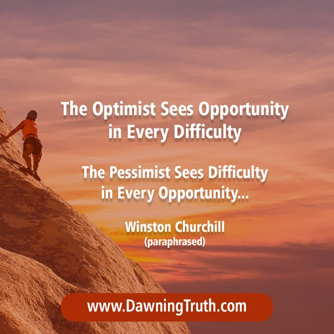 Optimistic - Optimism Quote