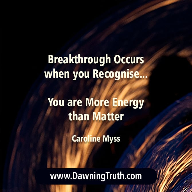 Energy Psychology - Anxiety Quote