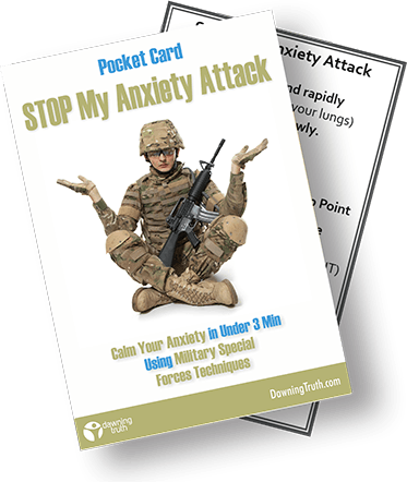 Stop My Anxiety Attack - Pocket Card